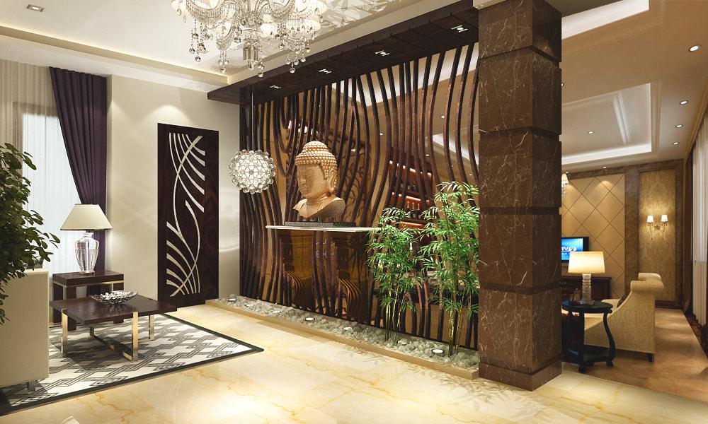 3D design of a modern living room by SA Design Group Living-room | Interior Design Photos & Ideas
