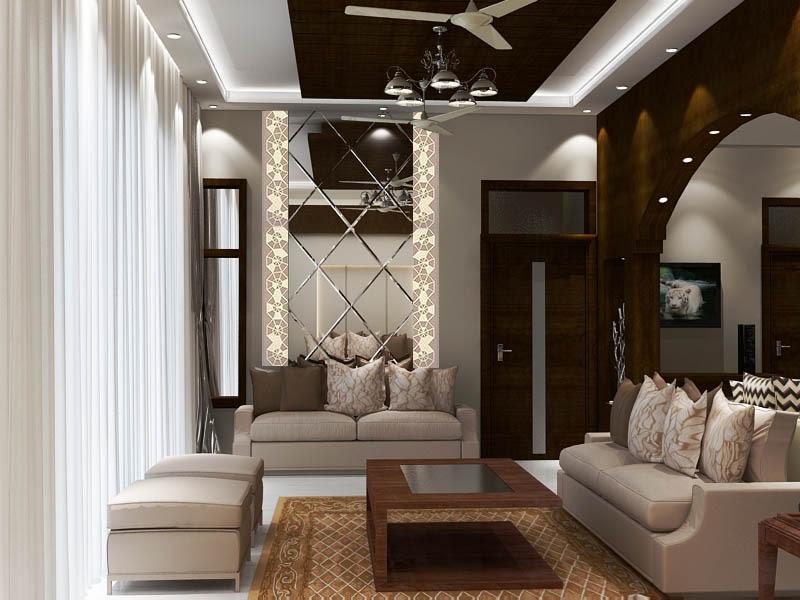 3D design of a contemporary living room by SA Design Group Living-room Contemporary | Interior Design Photos & Ideas
