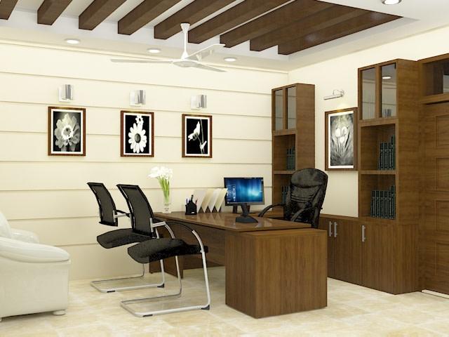 Modern office cabin by SA Design Group Modern | Interior Design Photos & Ideas