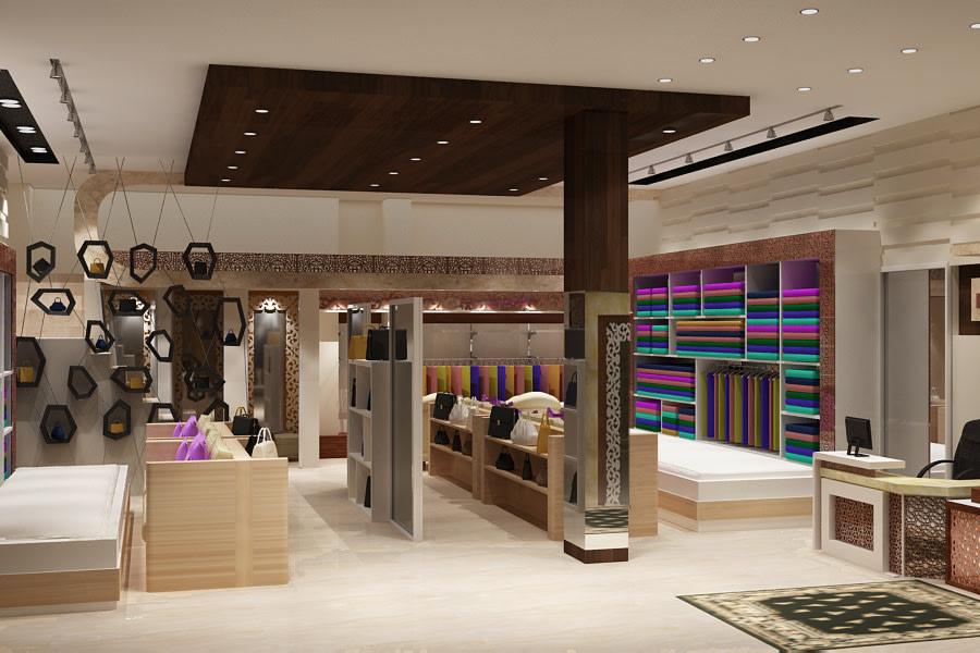 3D design of a modern retail store by SA Design Group Modern | Interior Design Photos & Ideas