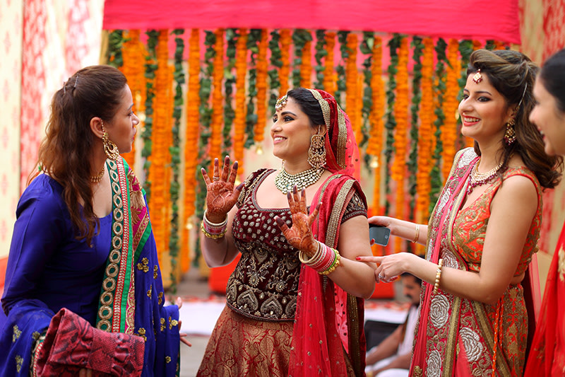 Bride With Her Friends by Shoot factory  Wedding-photography | Weddings Photos & Ideas