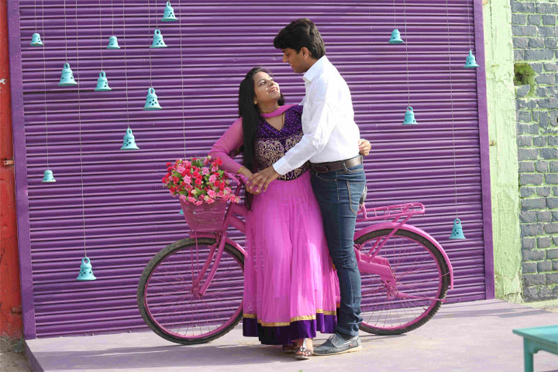 Pre-Wedding Shoot With Cycle Prop by Shoot factory  Wedding-photography | Weddings Photos & Ideas