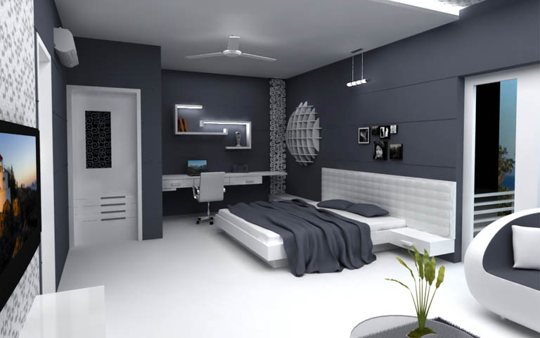 Master Bed room by I-DESIGNS Bedroom Modern | Interior Design Photos & Ideas