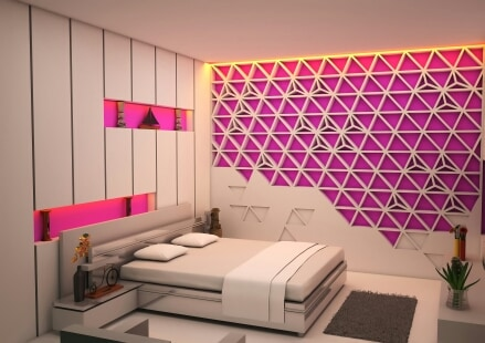 The Animated Bedroom by I-DESIGNS Bedroom Modern | Interior Design Photos & Ideas