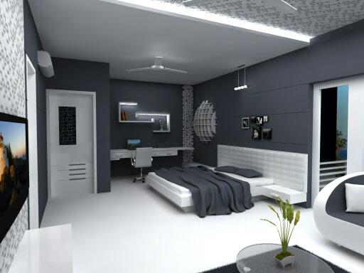 Master Bedroom by I-DESIGNS Bedroom Modern | Interior Design Photos & Ideas