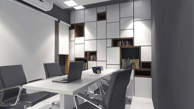 The Office Space by I-DESIGNS Modern | Interior Design Photos & Ideas