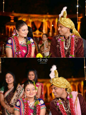 Bride and groom by VIVAH PHOTOS Wedding-photography | Weddings Photos & Ideas