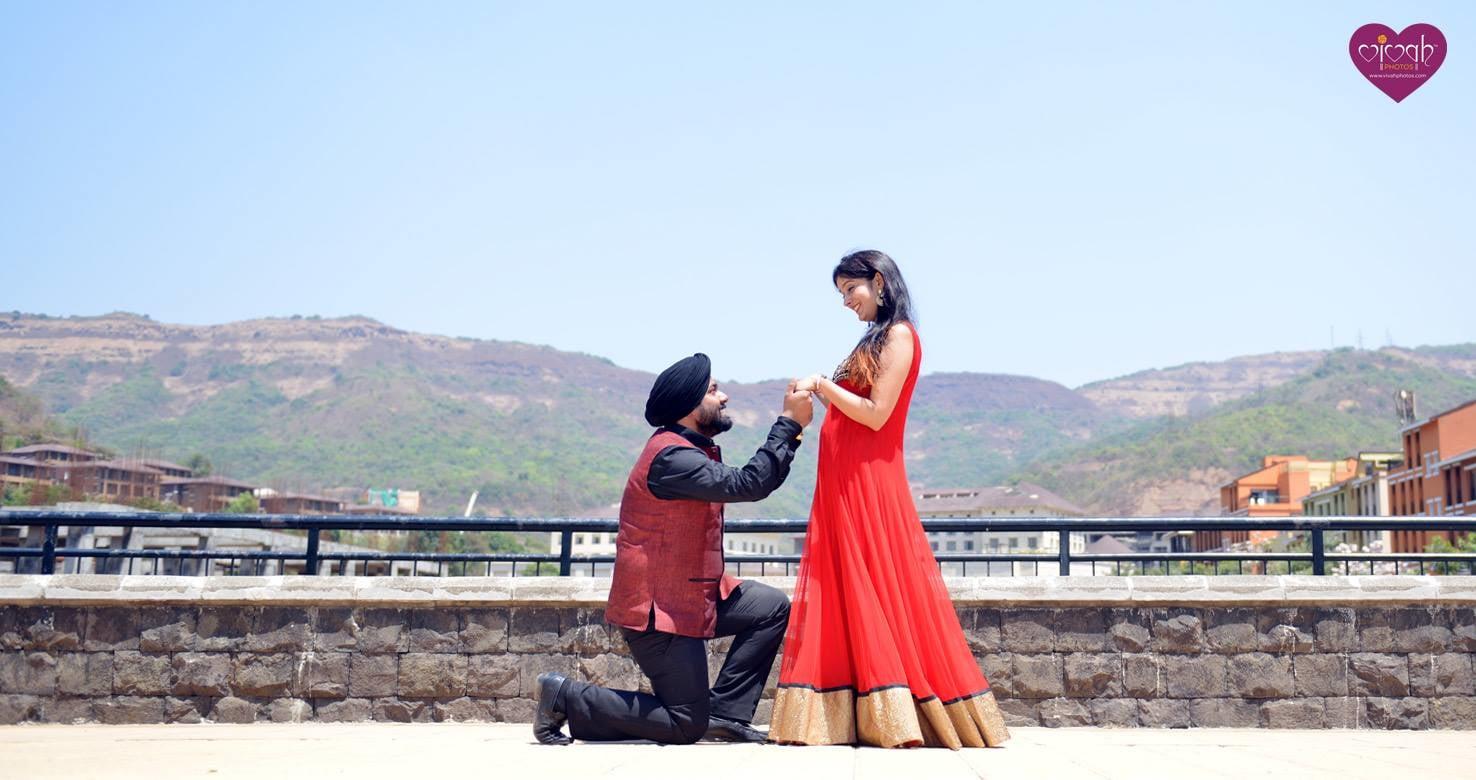 The proposal by VIVAH PHOTOS Wedding-photography | Weddings Photos & Ideas