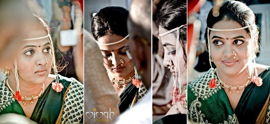 Marathi bride by VIVAH PHOTOS Wedding-photography   Weddings Photos & Ideas