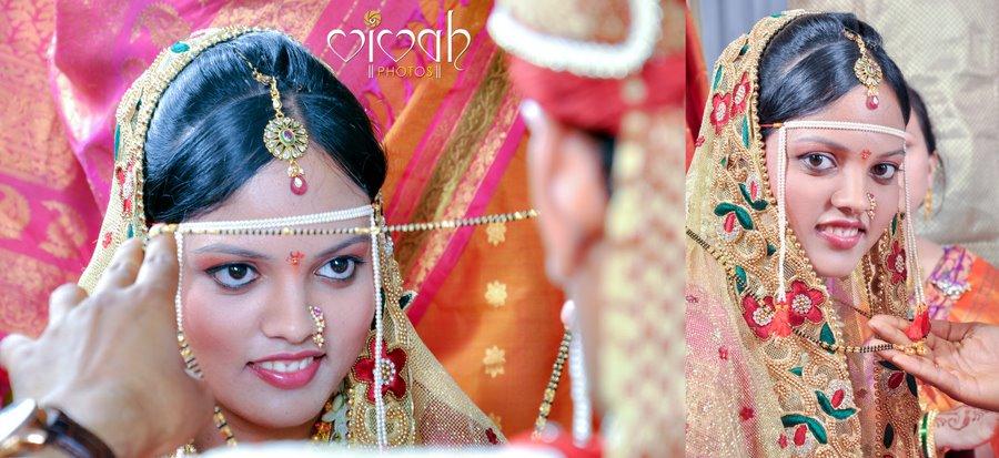 Pretty marathi bride by VIVAH PHOTOS Wedding-photography   Weddings Photos & Ideas
