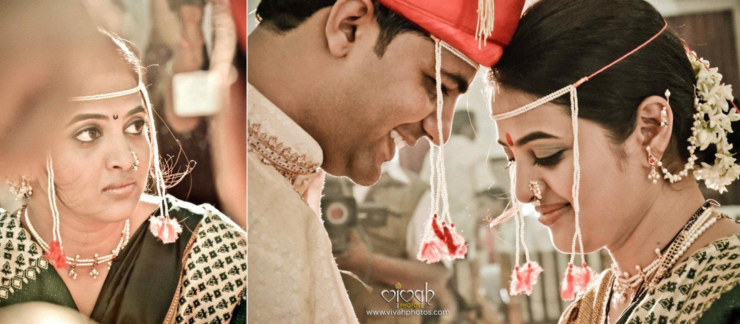 Pretty bride and groom by VIVAH PHOTOS Wedding-photography | Weddings Photos & Ideas
