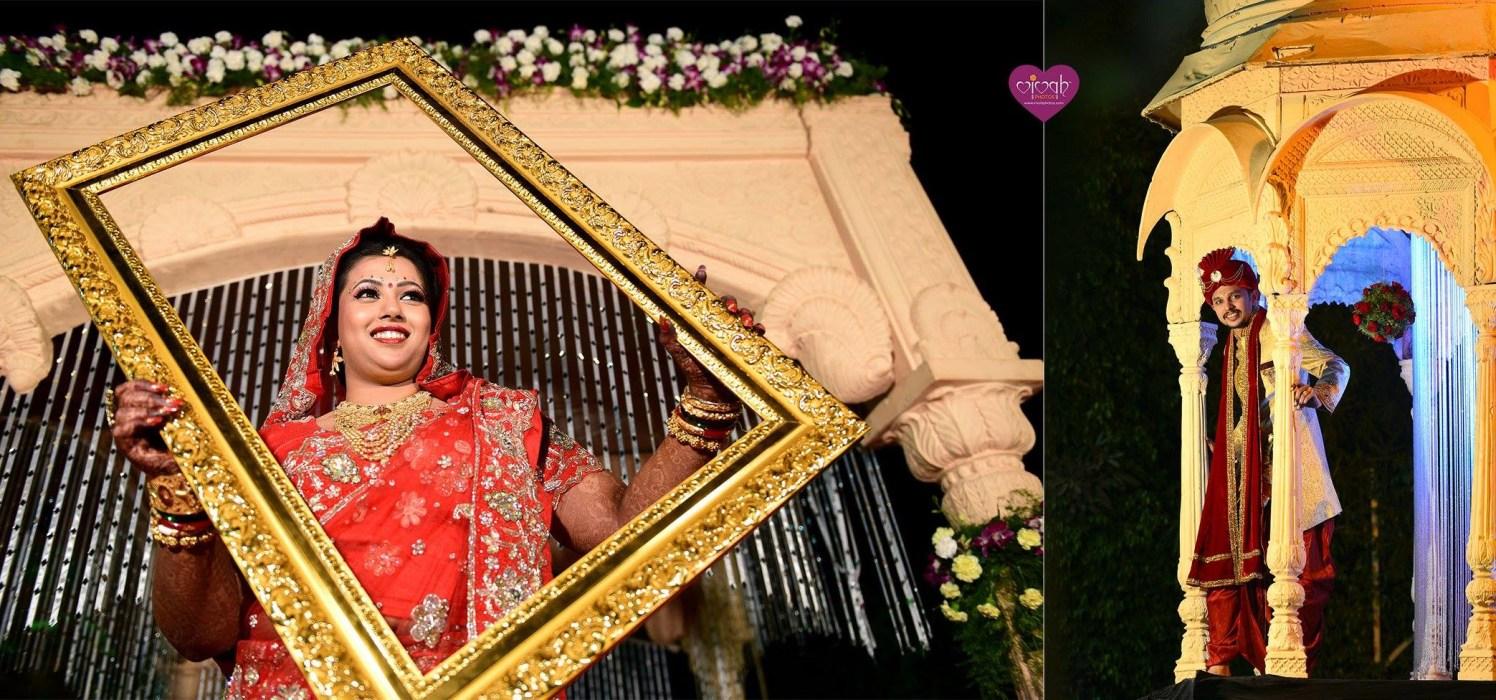 Frame within frame by VIVAH PHOTOS Wedding-photography | Weddings Photos & Ideas
