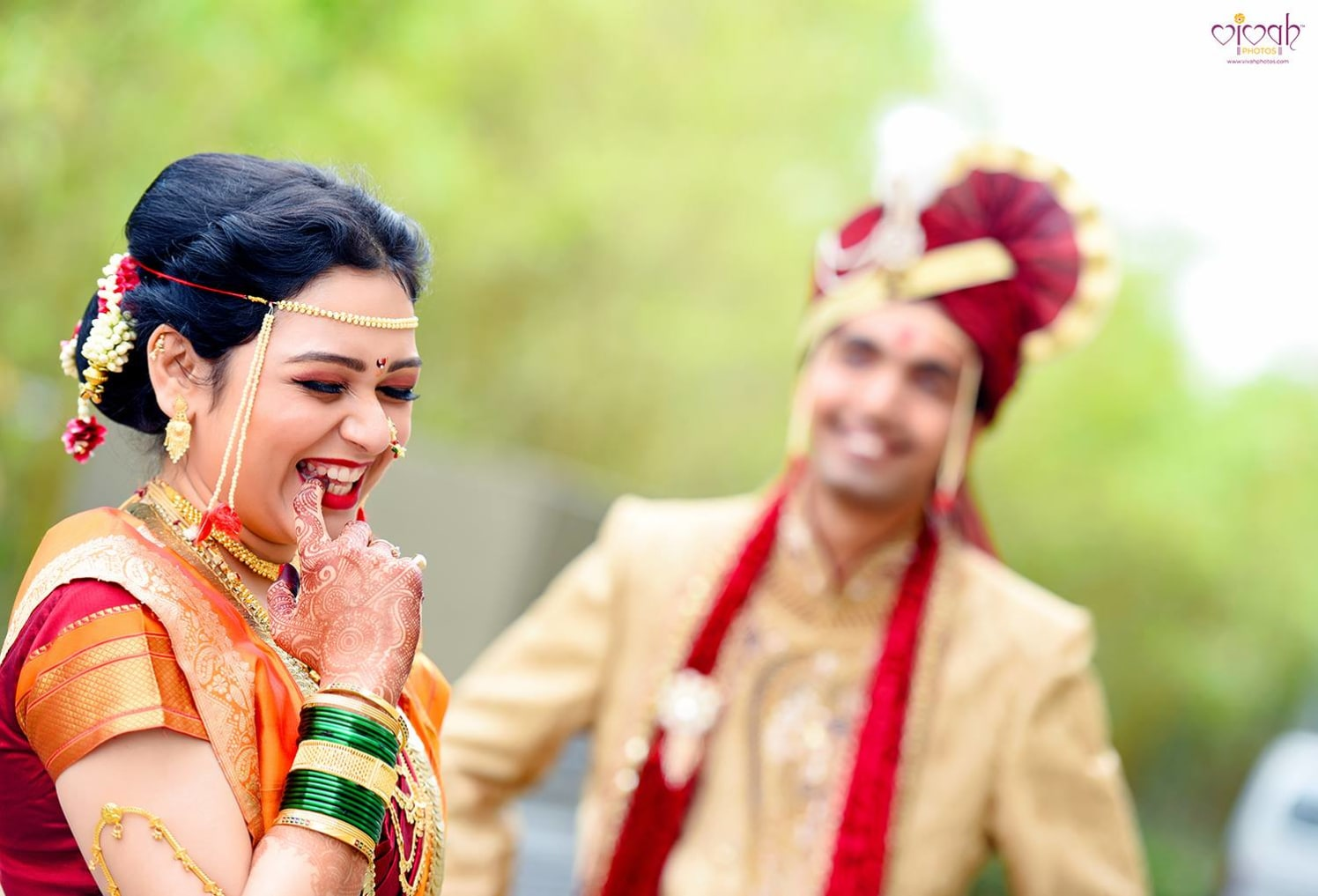 Shy expression by VIVAH PHOTOS Wedding-photography | Weddings Photos & Ideas