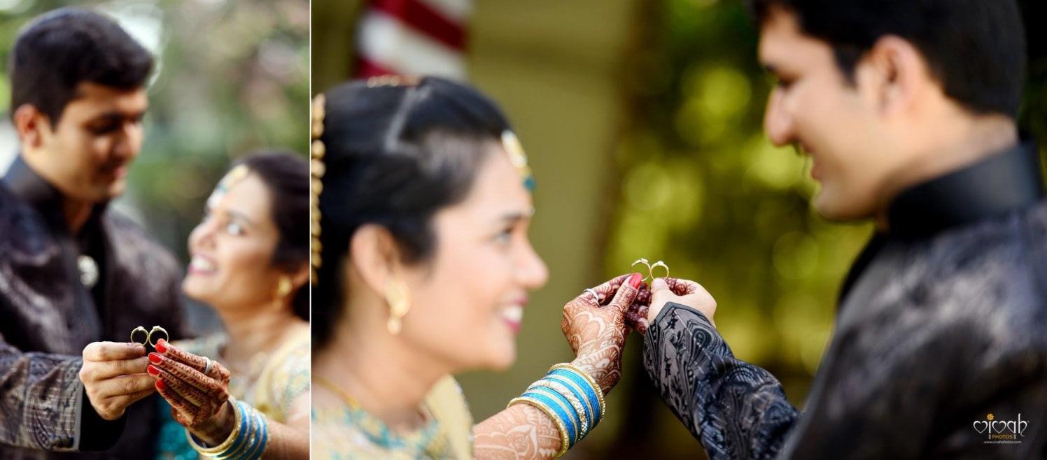 Flashing rings by VIVAH PHOTOS Wedding-photography | Weddings Photos & Ideas