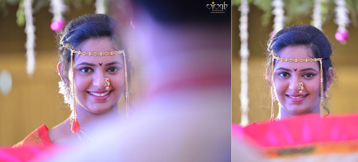 Pretty bride by VIVAH PHOTOS Wedding-photography | Weddings Photos & Ideas