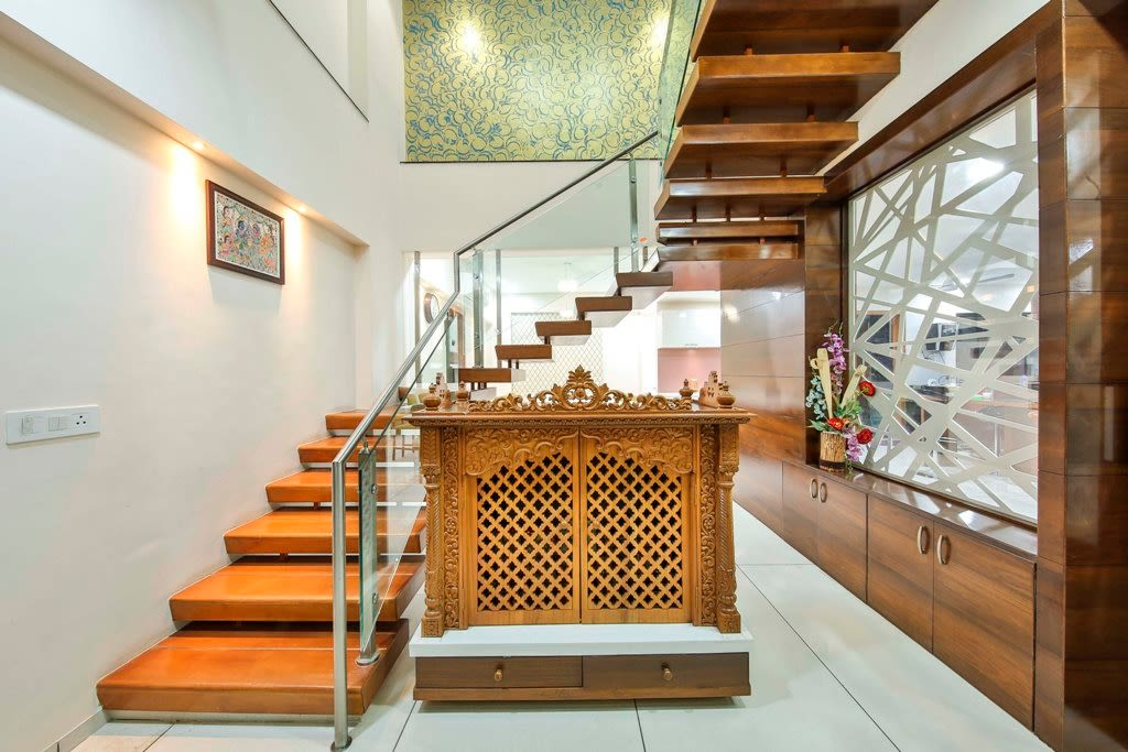 The Stair Case by Ignitus Architectural Studio Indoor-spaces Modern | Interior Design Photos & Ideas