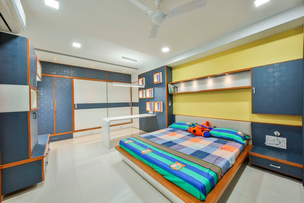 The Kid's Bedroom by Ignitus Architectural Studio Bedroom Modern | Interior Design Photos & Ideas