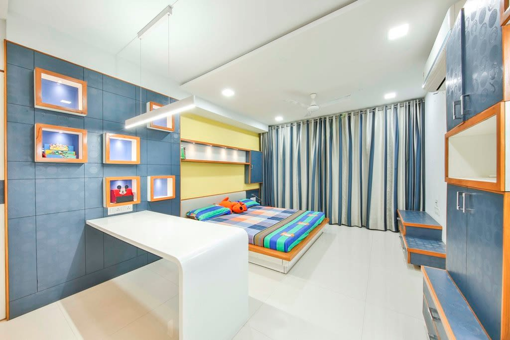 Kid Bedroom by Ignitus Architectural Studio Modern | Interior Design Photos & Ideas