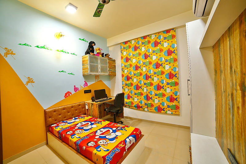 Kid's Bedroom by Ignitus Architectural Studio Bedroom Modern | Interior Design Photos & Ideas
