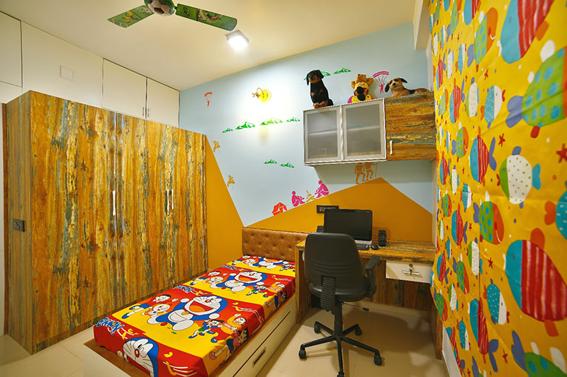 The Kid Bedroom by Ignitus Architectural Studio Bedroom Modern | Interior Design Photos & Ideas