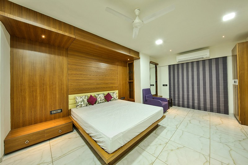 The Master Bedroom by Ignitus Architectural Studio Bedroom Modern | Interior Design Photos & Ideas