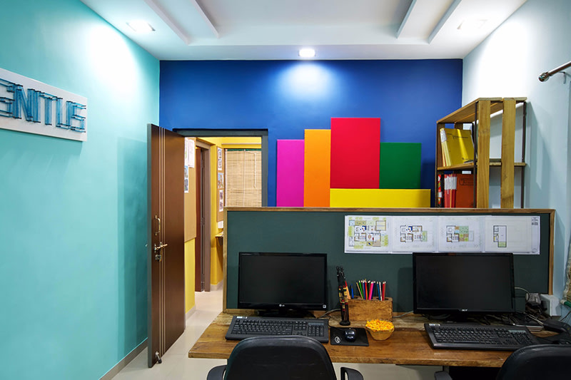 Colorful Kids Room by Ignitus Architectural Studio Modern | Interior Design Photos & Ideas