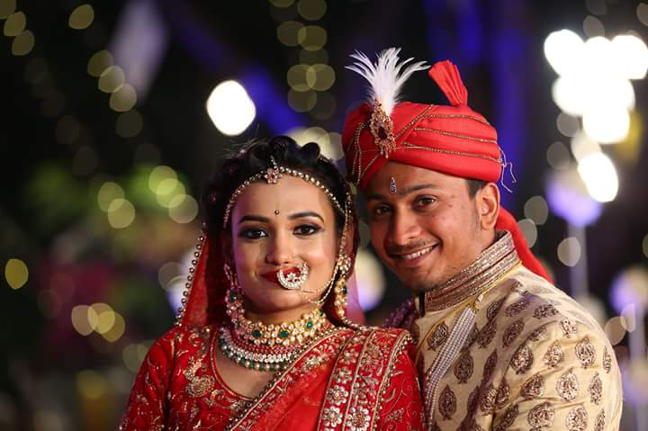 Perfect Couple Portrait On Their Special Day by Vithal Chavda Wedding-photography Groom-wear-and-accessories | Weddings Photos & Ideas