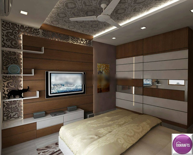 Premium Bedroom with Modern Decor by 100krafts Bedroom Contemporary | Interior Design Photos & Ideas