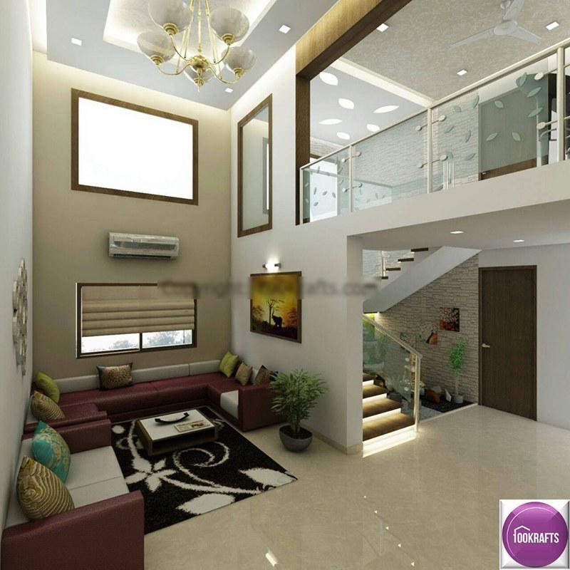 Storied Modern Living Room by 100krafts Living-room Contemporary   Interior Design Photos & Ideas