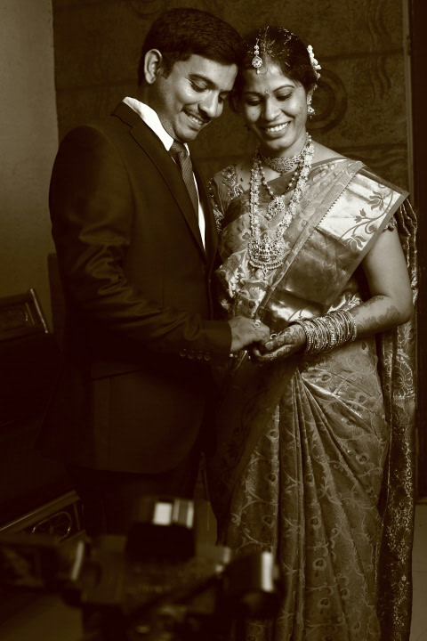 Black and White Shot by M.Shyam kumar Wedding-photography | Weddings Photos & Ideas