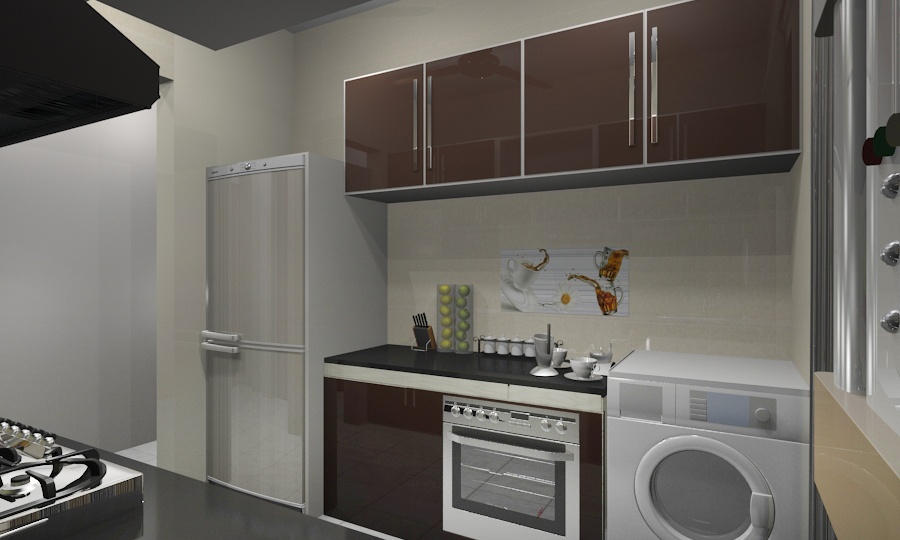 Modular Kitchen With Modern Appliances by Vijay Modular-kitchen | Interior Design Photos & Ideas