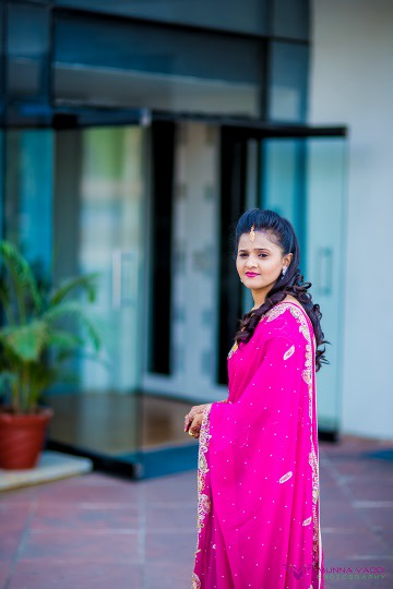 Magenta shades! by Munna Vaddi Photography Wedding-photography | Weddings Photos & Ideas