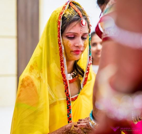 Haldi shot! by Munna Vaddi Photography Wedding-photography | Weddings Photos & Ideas