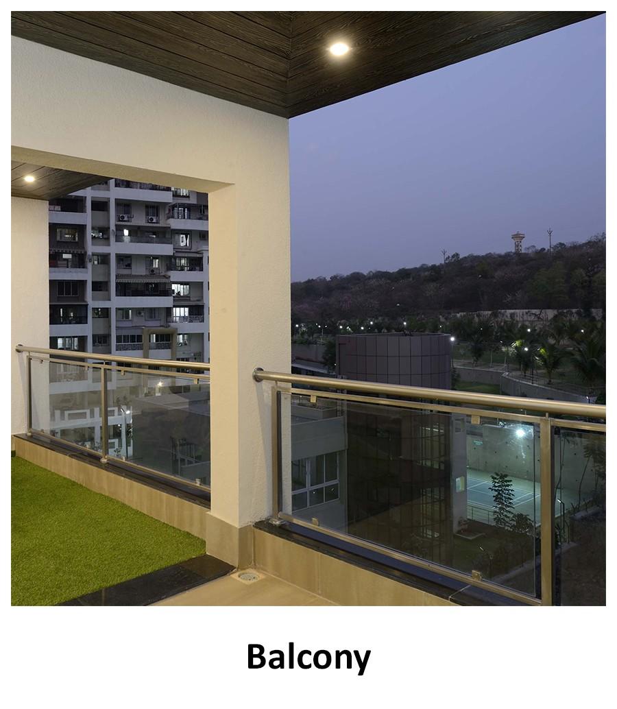 Balcony! by Nibjiya Studio's  Open-spaces | Interior Design Photos & Ideas