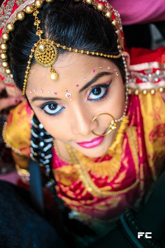 Bride With Stunning Makeup by Anubhav Ray Wedding-photography | Weddings Photos & Ideas
