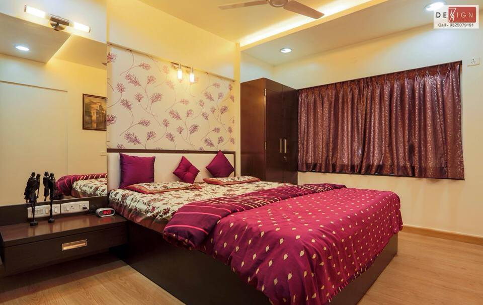 Shades of Hot Pink by Dessign7 Interiors Pvt Ltd. Contemporary | Interior Design Photos & Ideas