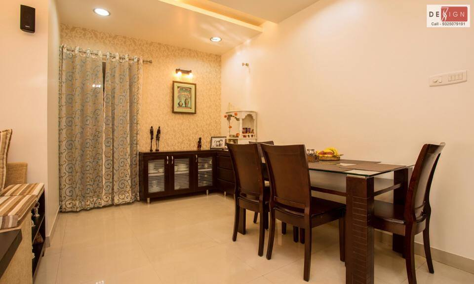 Beige and Gold by Dessign7 Interiors Pvt Ltd. Contemporary | Interior Design Photos & Ideas