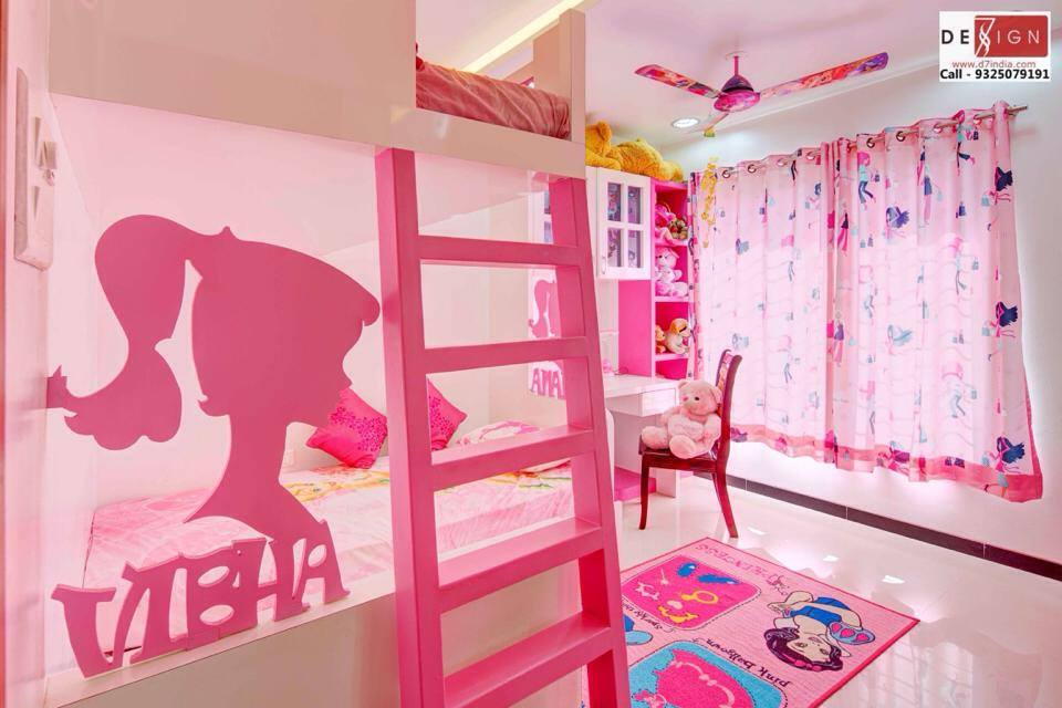Personalized in Pink by Dessign7 Interiors Pvt Ltd. Contemporary | Interior Design Photos & Ideas