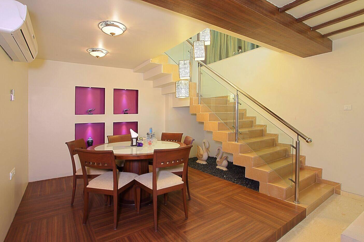 Urbane Living Room by Dessign7 Interiors Pvt Ltd. Contemporary | Interior Design Photos & Ideas