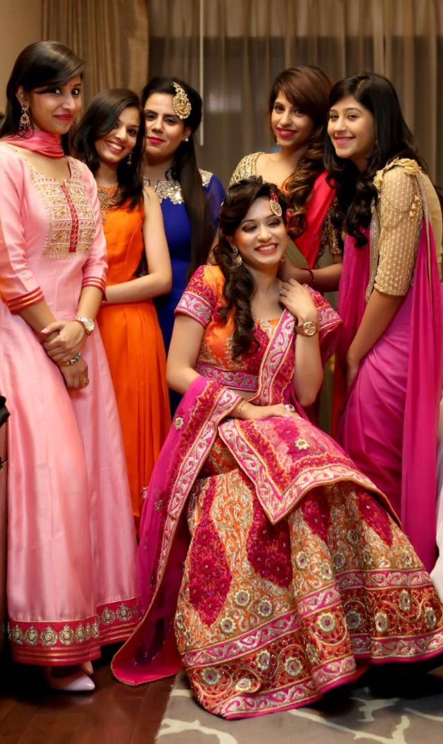 Bride's  gang! by Kamal Malhotra Studio Wedding-photography | Weddings Photos & Ideas