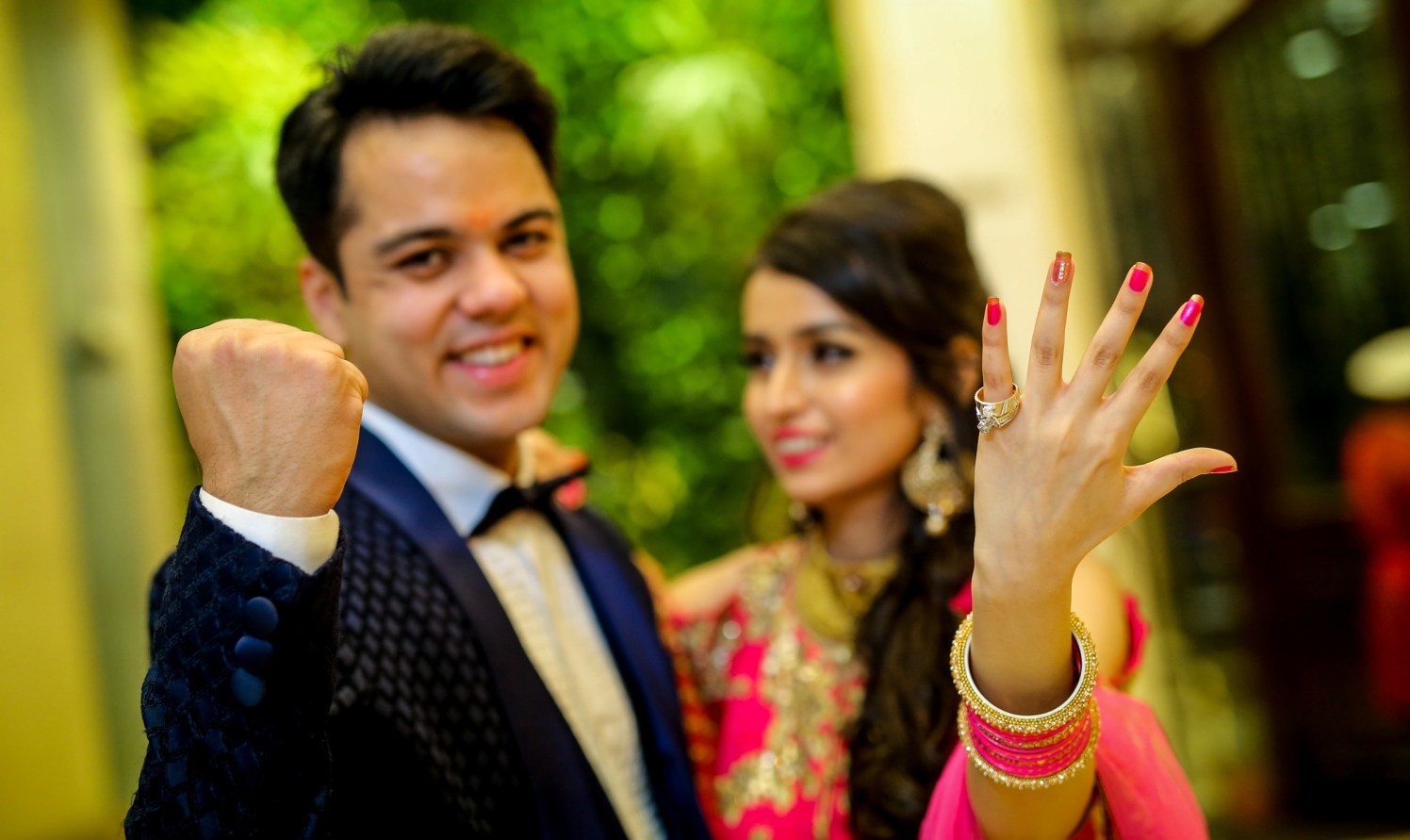 Engaged! by Kamal Malhotra Studio Wedding-photography | Weddings Photos & Ideas