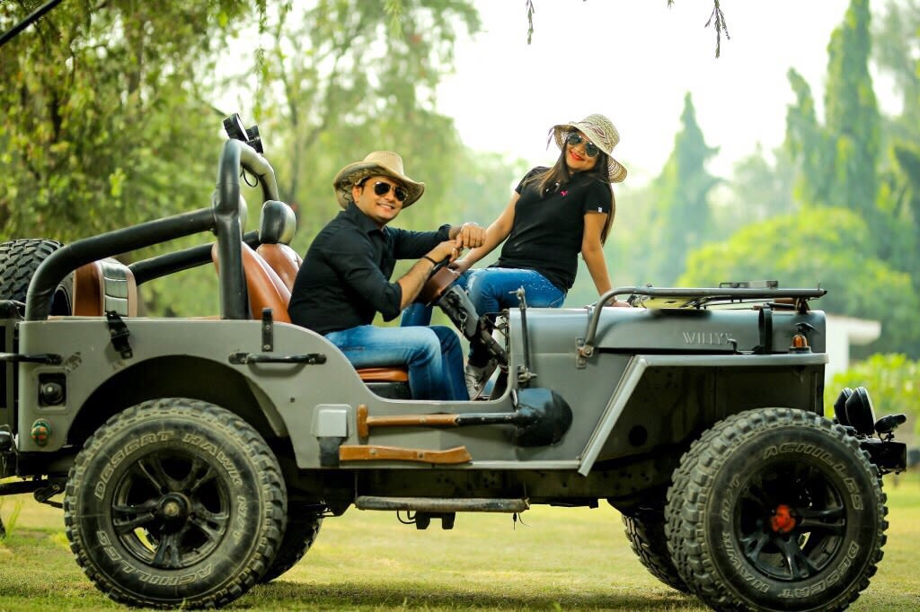 Jeep it! by Kamal Malhotra Studio Wedding-photography | Weddings Photos & Ideas
