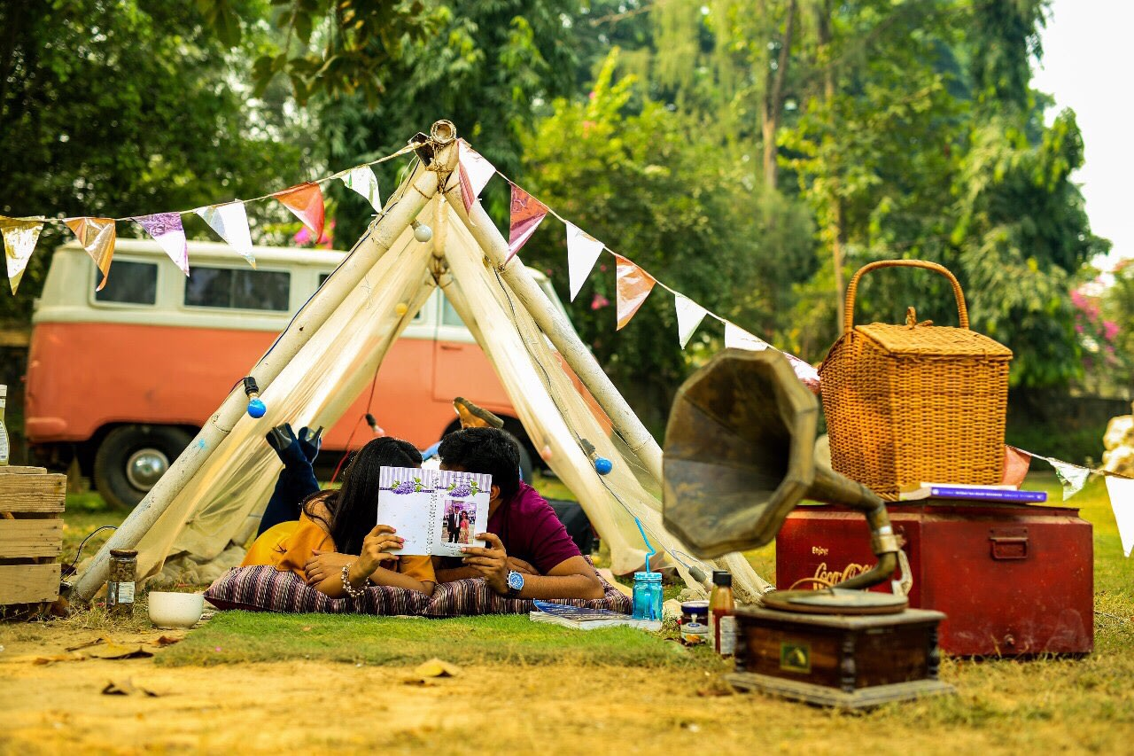 Love camping! by Kamal Malhotra Studio Wedding-photography | Weddings Photos & Ideas