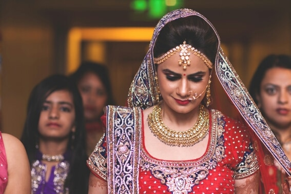 bride with a beautiful smile by A Story Perhaps  Wedding-photography | Weddings Photos & Ideas