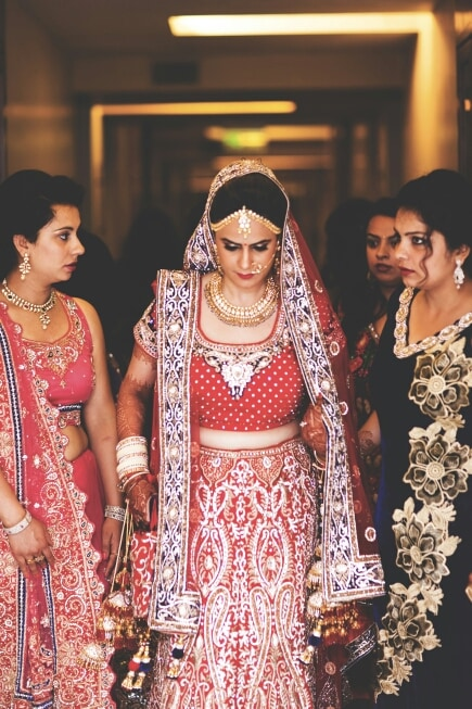 Elegantly walking towards the mandap by A Story Perhaps  Wedding-photography | Weddings Photos & Ideas