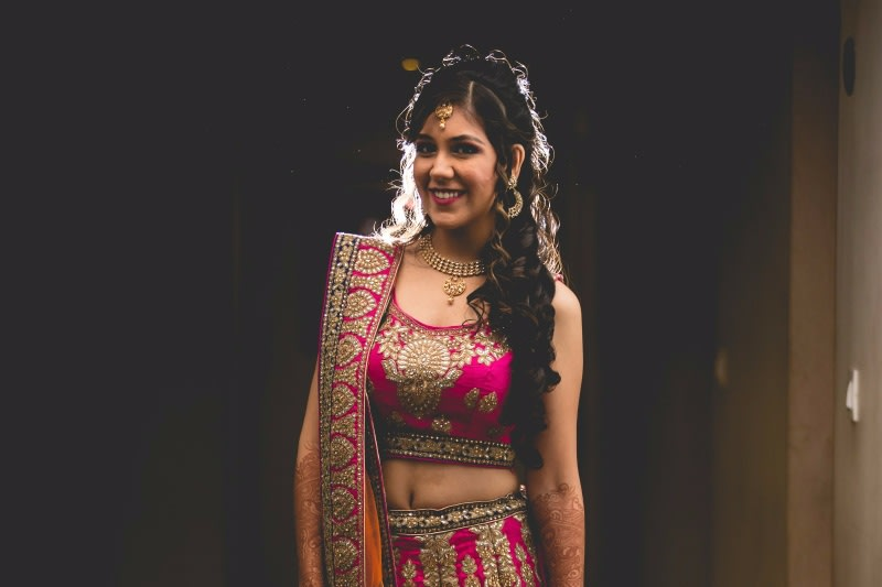elegantly smiling for the camera by A Story Perhaps  Wedding-photography | Weddings Photos & Ideas