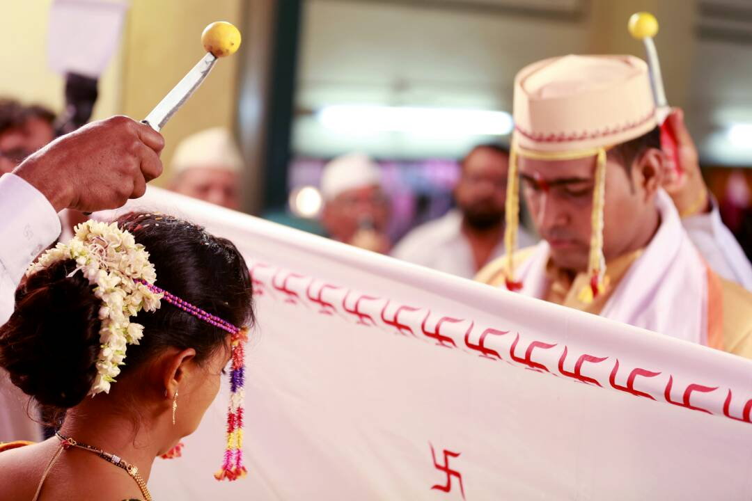 Bride and groom carrying out their wedding rituals by Proffesional Photographer Wedding-photography | Weddings Photos & Ideas