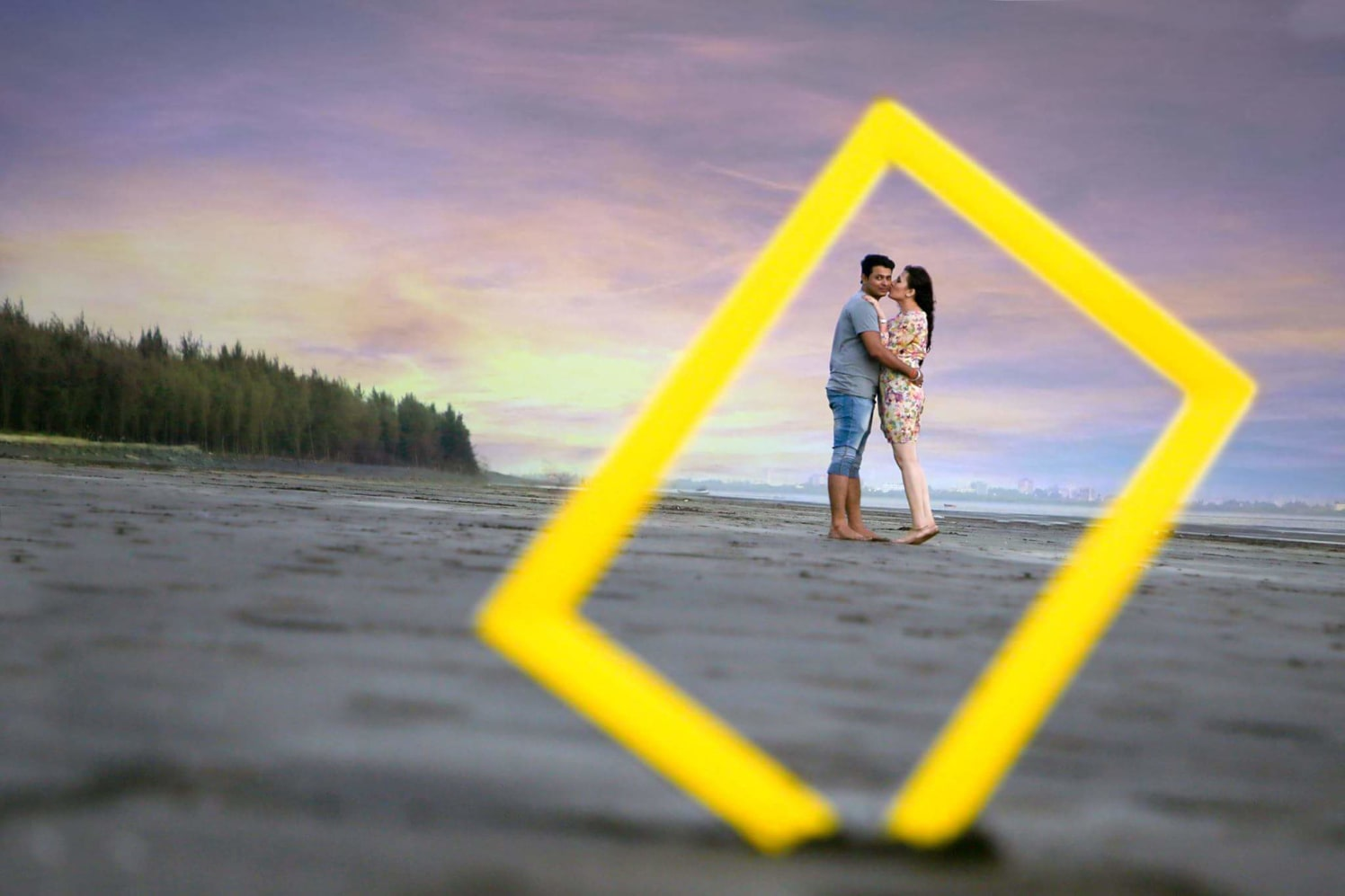 Romancing at the beach by Proffesional Photographer Wedding-photography | Weddings Photos & Ideas