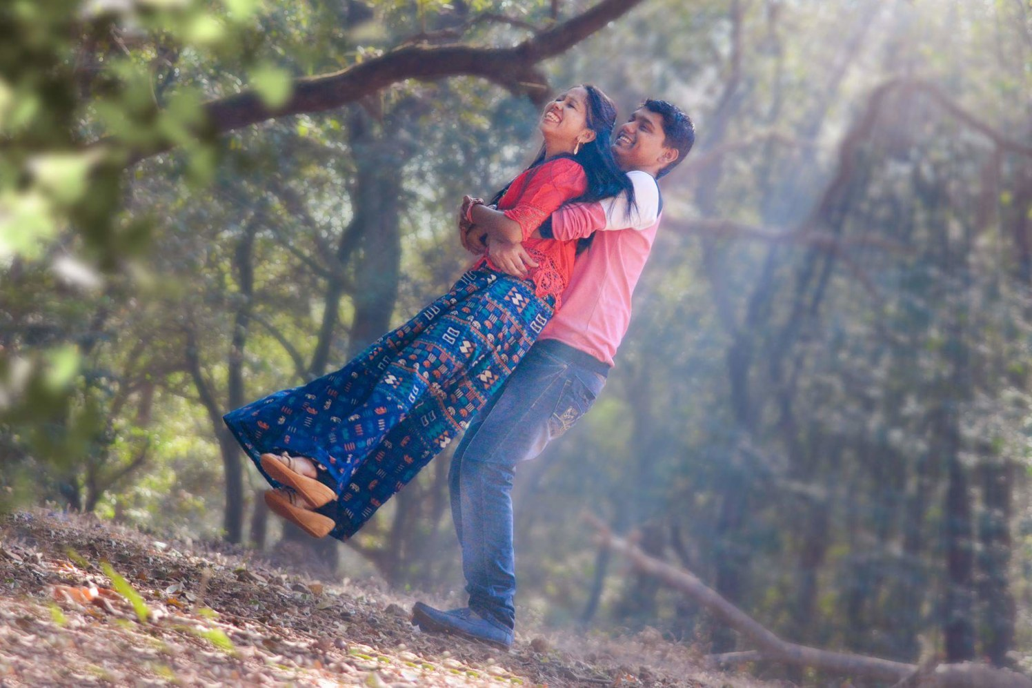 Smiling away with their love by Proffesional Photographer Wedding-photography | Weddings Photos & Ideas