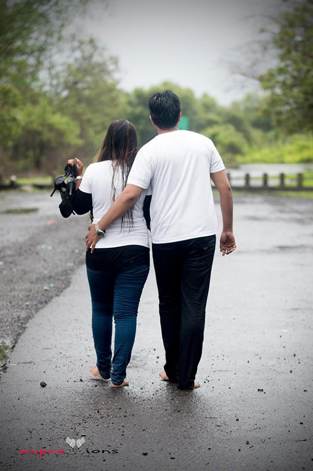 A romantic walk with the love by Exprezzions Wedding-photography | Weddings Photos & Ideas